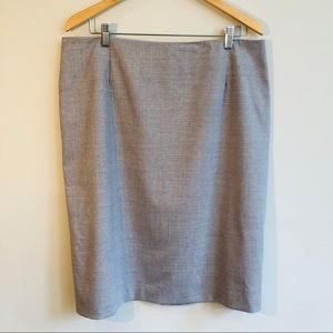 Pendleton Lightweight Wool Blend Pencil Skirt